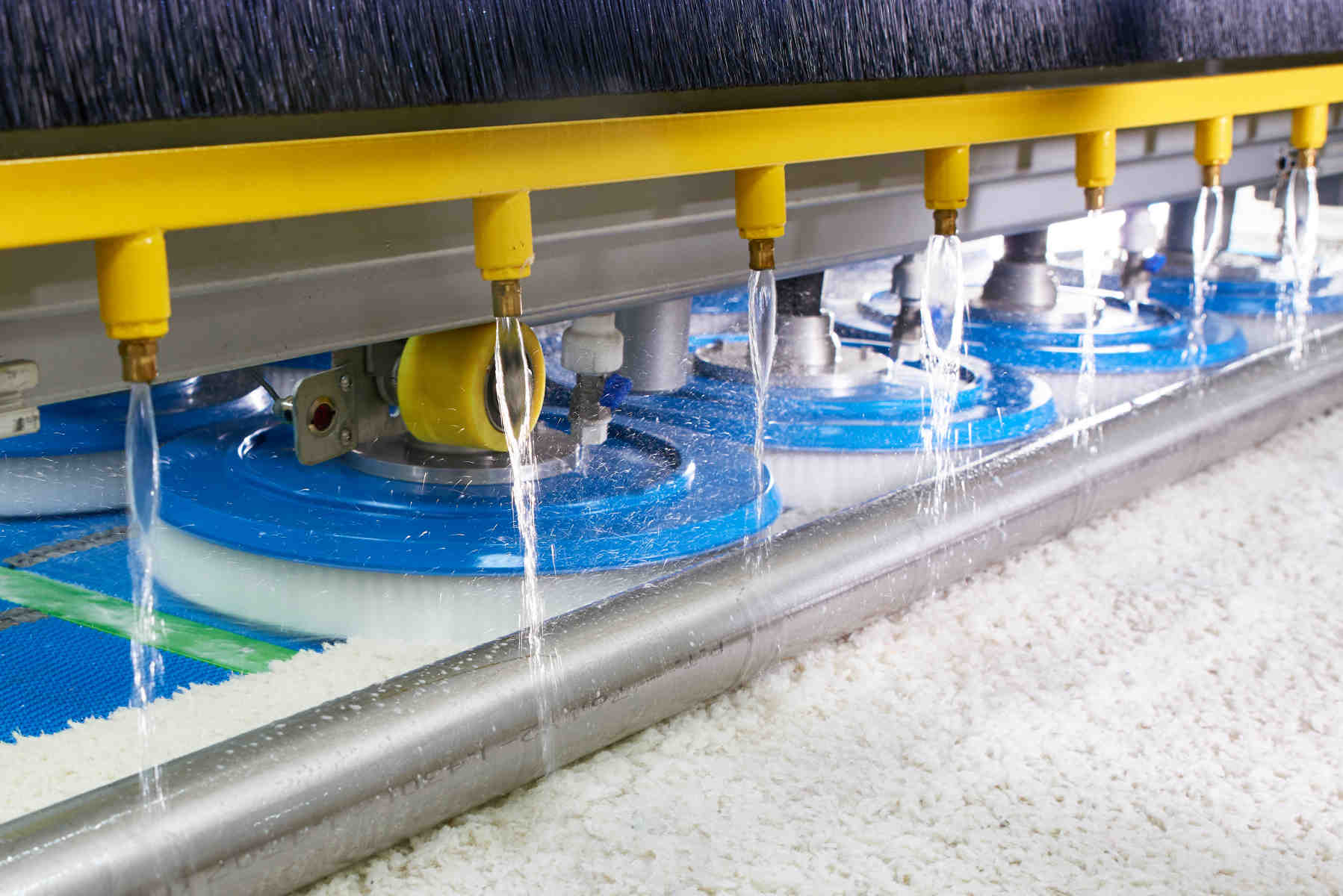 Oriental Rug Cleaning - Automatic Rug Washing Machine