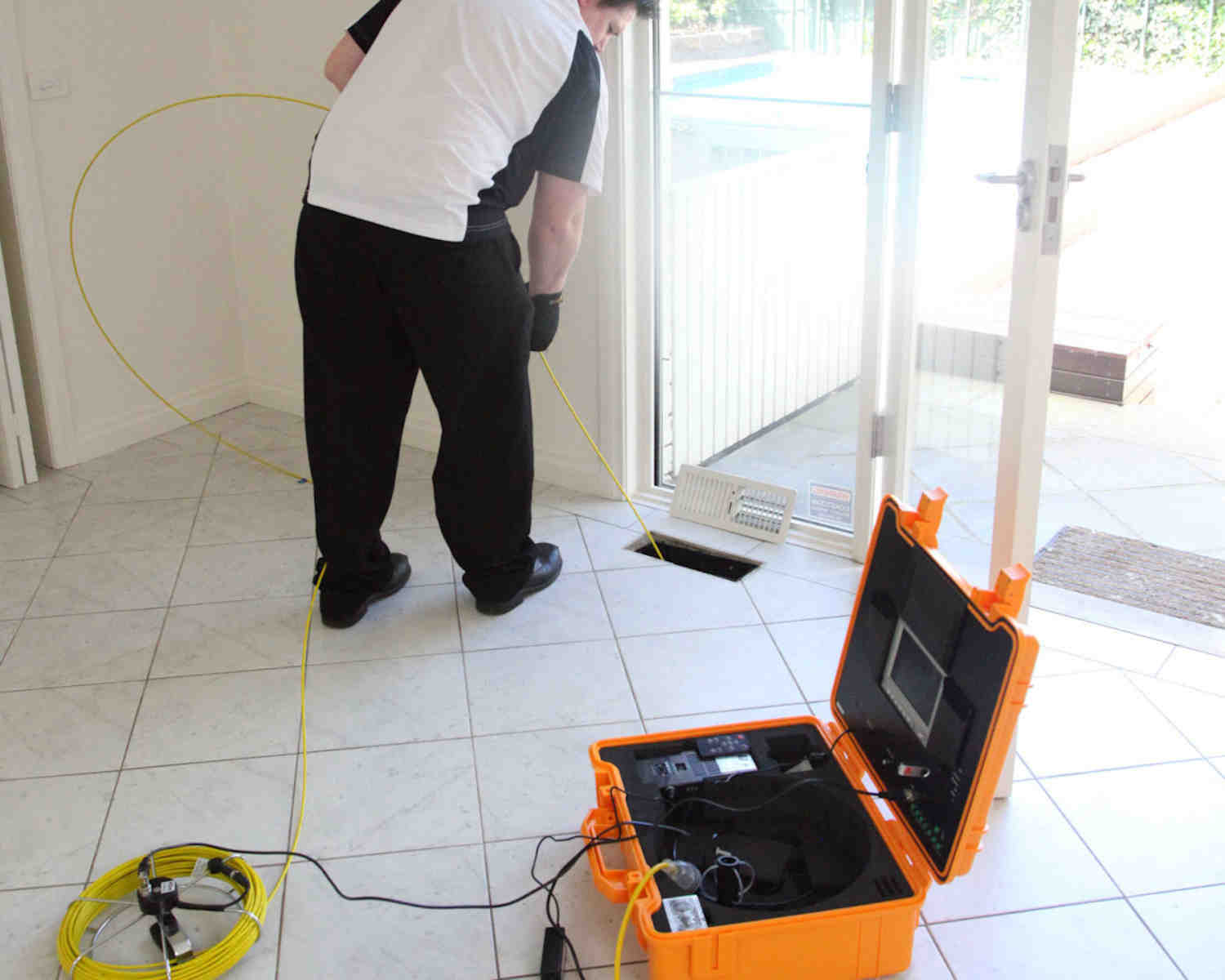 Duct Cleaning Melbourne - Duct video inspection camera
