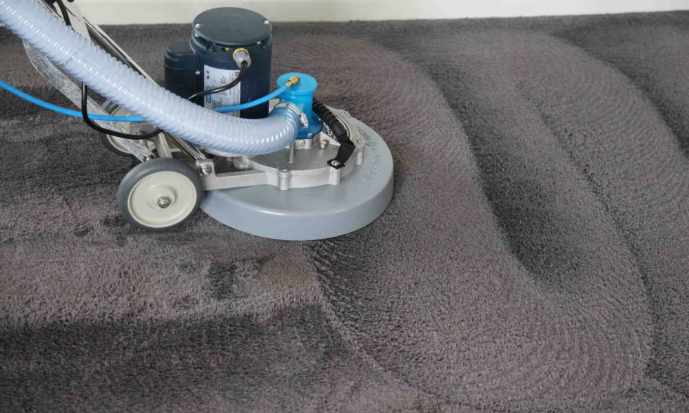 Carpet Cleaning Melbourne - Rotary steam cleaning wand
